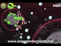 angry birds space danger zone level 10