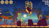 Angry Birds Seasons: Abra-Ca-Bacon Андроид
