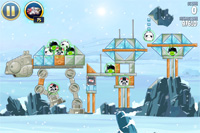 Angry Birds Star Wars - Hoth 3-7
